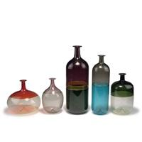 fünf vasen bolle (5 works) by tapio wirkkala
