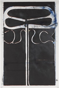 untitled (from club/spade group '81-82), from eight by eight to celebrate the temporary contemporary by richard diebenkorn