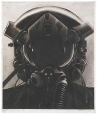 study for jet pilot no. 1 by robert longo