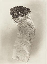 cigarette no. 8, new york by irving penn