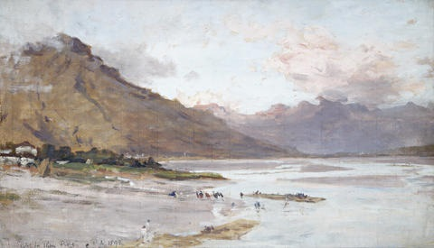 river piave (sketch) by james aumonier