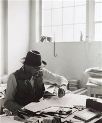josef beuys, düsseldorf by gottfried tollmann