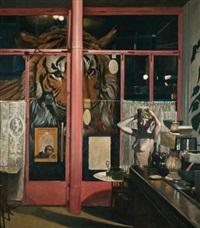 woman with tiger by pavlos samios