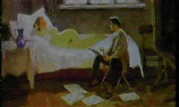 peintre et modele by dimitri nekrasov