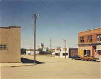 main st., gull lake, saskatchewan, 8/18/74 by stephen shore