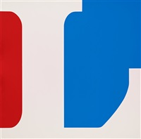 four panel love (set of 4) by robert indiana