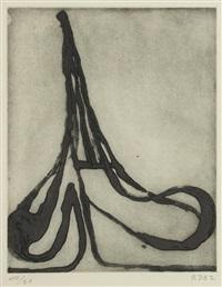 eiffel spade, from five spades by richard diebenkorn