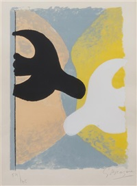 resurrection de l'oiseau by georges braque