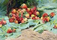 composition aux fraises by georges jeannin