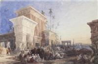the halt in the desert by david roberts