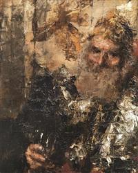 ritratto di vecchio by antonio mancini