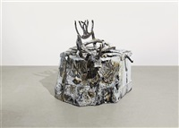 early american chair (snow pedestal) by valerie hegarty