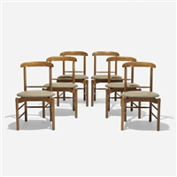 chairs, set of six by greta magnusson grossman