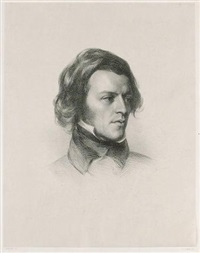 portrait of alfred, lord tennyson (by james henry lynch) by samuel laurence