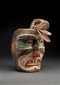 thunderbird mask by anonymous-inuit