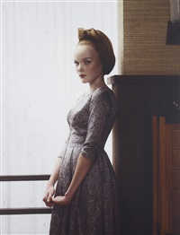 victoria (portrait) from grief by erwin olaf