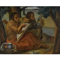 vezilje (the weavers) by joza kljakovic