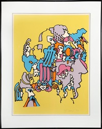 past incarnations by peter max
