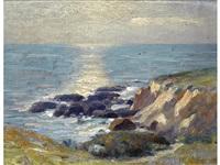 coastal rocks; van cortland park (pair) by ernest martin hennings