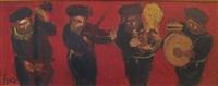 musicians by yitzhak frenkel-frenel