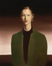 portrait of joanita blank by candido portinari