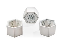 hexagon tiles (set of 3) by rut bryk
