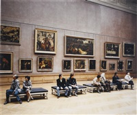 louvre 3. paris by thomas struth