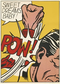 sweet dreams baby!, from: 11 pop artists by roy lichtenstein
