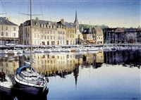 honfleur, france by edwin haas