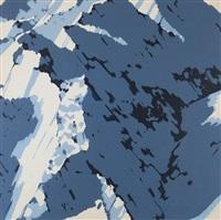 schweizer alpen. motiv a1 by gerhard richter