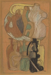 cubist study by le corbusier