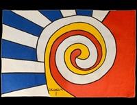 #34 of the bicentennial tapestries by alexander calder