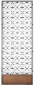elevator enclosure panel from the chicago stock exchange (collab. w/louis sullivan) by dankmar adler