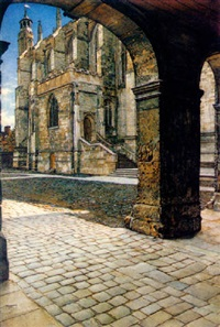 eton college chapel by anna alma-tadema