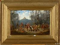 le retour de la chasse à courre by alexander ritter von bensa