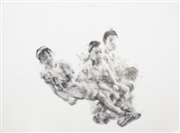 我们仨 # 2 three fellows #2 by guo hongwei