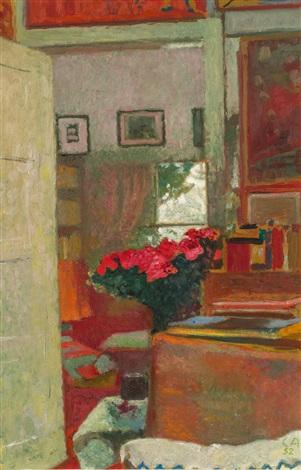 Interieur mit Azaleen von Cuno Amiet auf artnet