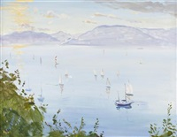 yachts of gourock by norman edgar