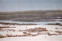 norrländskt vinterlandskap by jerry anderson