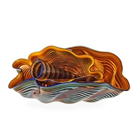 a dale patrick chihuly 4 pcs glass object by dale chihuly