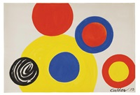 6 cercles by alexander calder