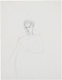 untitled (male nude) by elizabeth peyton