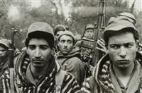 algérie, jeunes partisans algériens by dirk alvermann