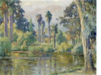 rancho santa anita by edward cucuel