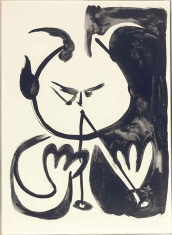 musicien faun no5 by pablo picasso