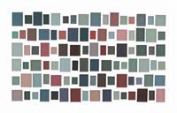 96 plaster surrogates no. 3 by allan mccollum
