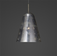 custom pendant lamp from the wesley methodist church, bloomington by paavo tynell