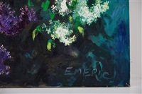 floral still life by emeric (emeric vagh-weinmann)