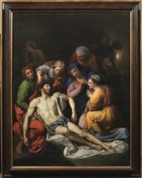 compianto di cristo by giuseppe fabbrini