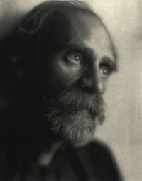 portrait of a man by margrethe mather